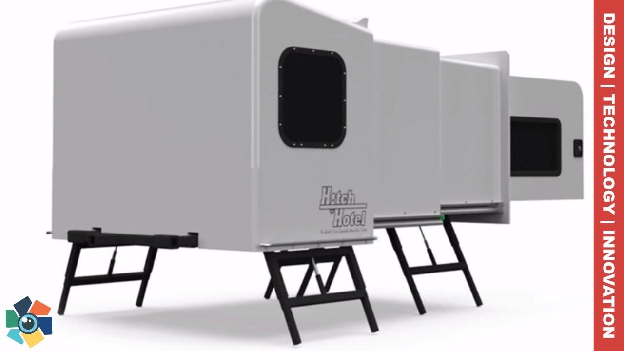 10 Awesome Caravans Camper Vans And Trailers 2018 2019